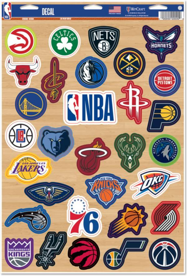 WinCraft NBA League Decal product image