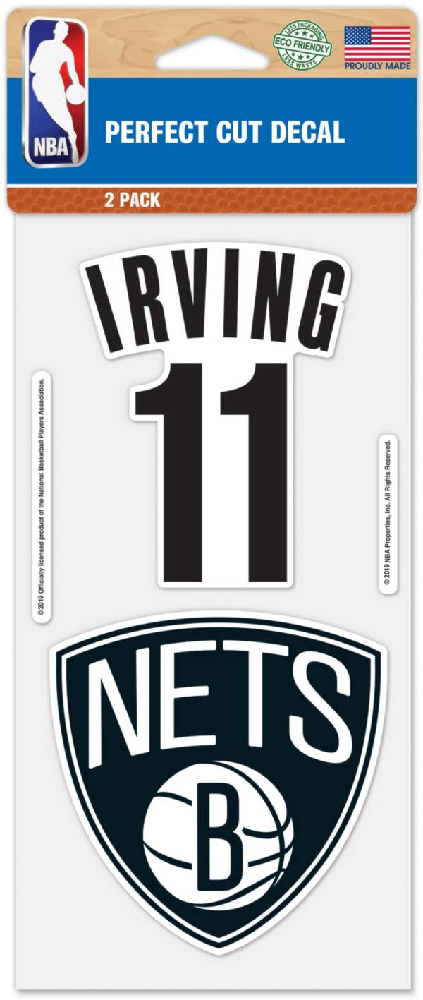 WinCraft Brooklyn Nets Kyrie Irving 2 Pk. Decal product image