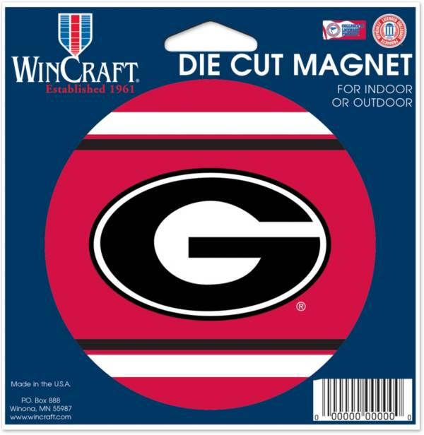 WinCraft Georgia Bulldogs Die-Cut Magnet product image