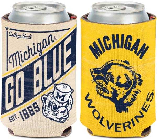 WinCraft Michigan Wolverines Vault Can Cooler product image