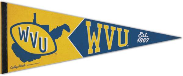 WinCraft West Virginia Mountaineers Vault Pennant product image