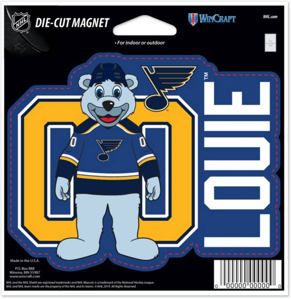 WinCraft St. Louis Blues Louie Die-Cut Magnet product image