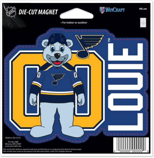 WinCraft St. Louis Blues Louie Die-Cut Magnet product image
