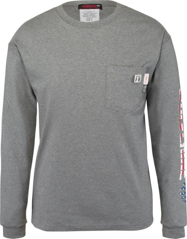 Wolverine Men's Flame Resistant Graphic Long Sleeve Shirt product image