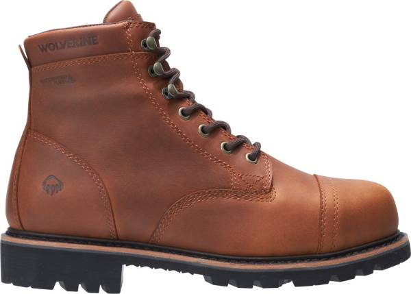 Wolverine Men's Journeyman 6'' Waterproof Composite Toe Work Boots product image