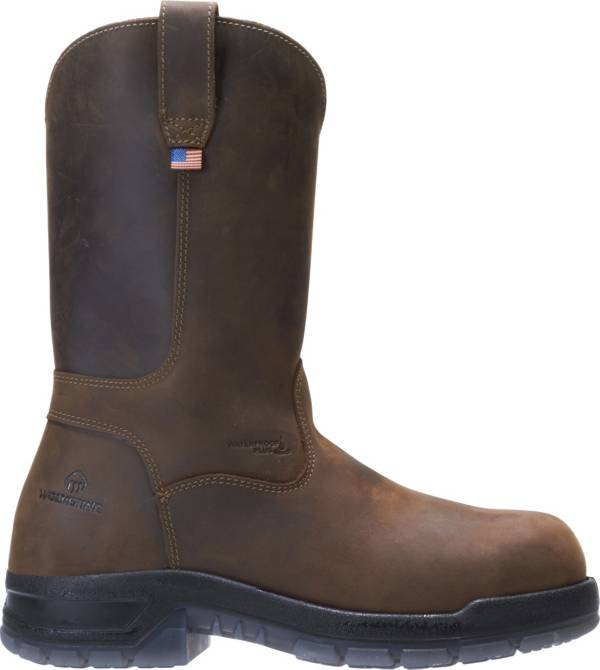 Wolverine Men's Rampart USA Wellington Waterproof Work Boots product image