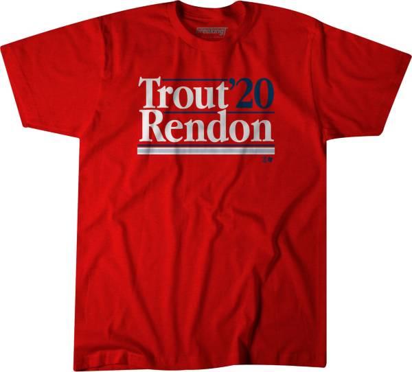 BreakingT Men's 'Trout Rendon 2020' Red T-Shirt product image