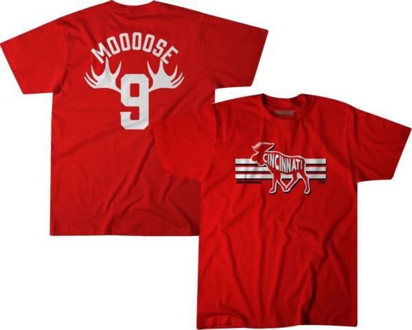 BreakingT Men's 'Mooose' Red T-Shirt product image