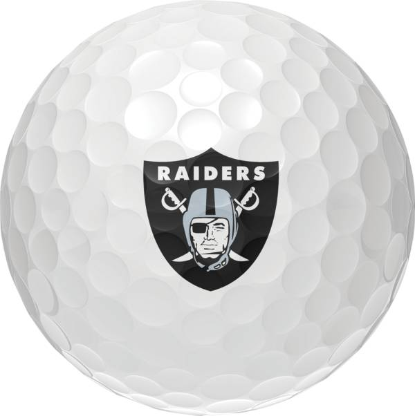 Wilson Staff Duo Soft Las Vegas Raiders Golf Balls product image