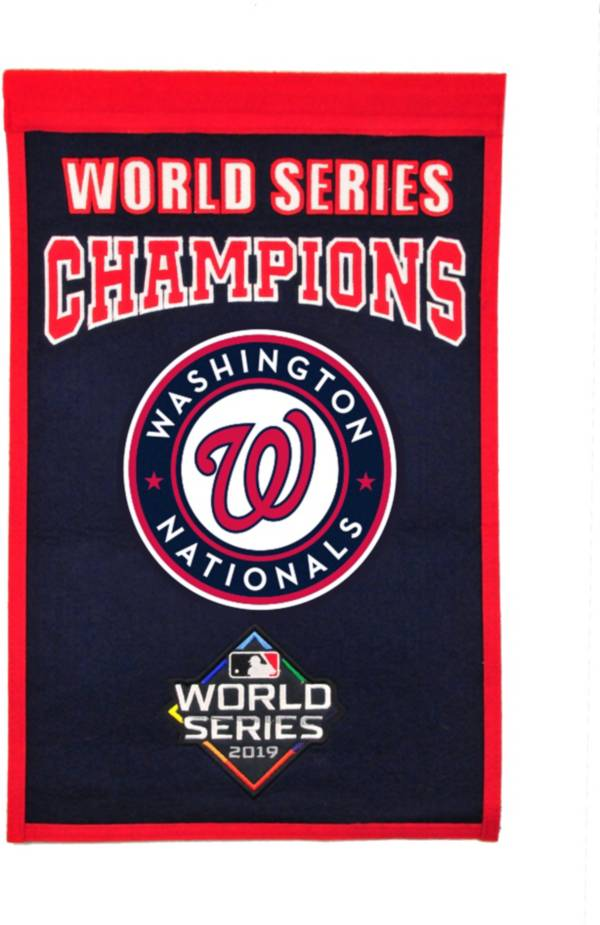 Winning Streak Sports 2019 World Series Champions Washington Nationals Championship Banner product image