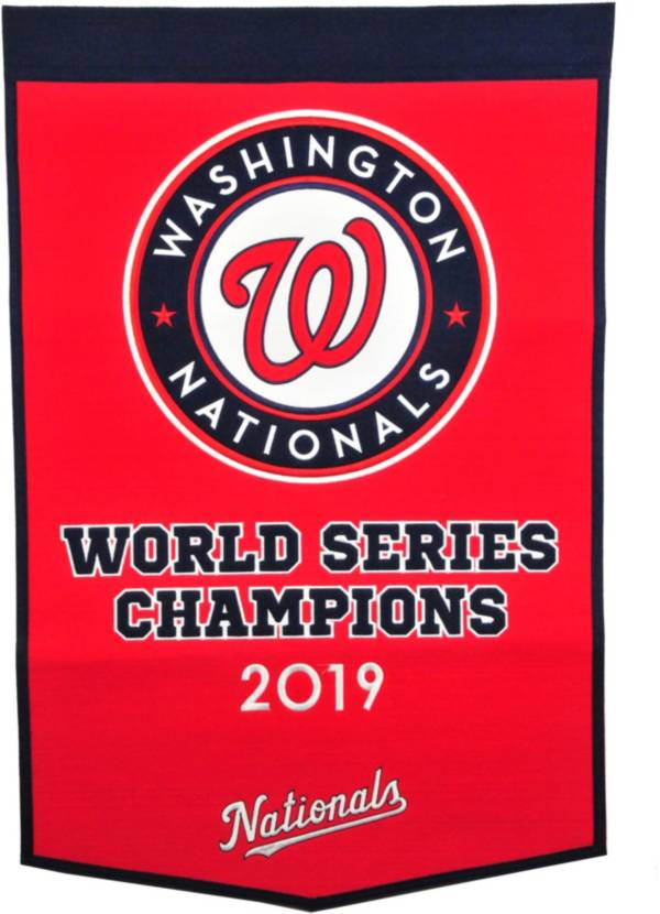 Winning Streak Sports 2019 World Series Champions Washington Nationals Dynasty Banner product image