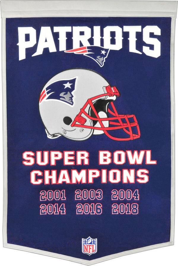 Winning Streak Sports Super Bowl LIII Champions New England Patriots Dynasty Banner product image