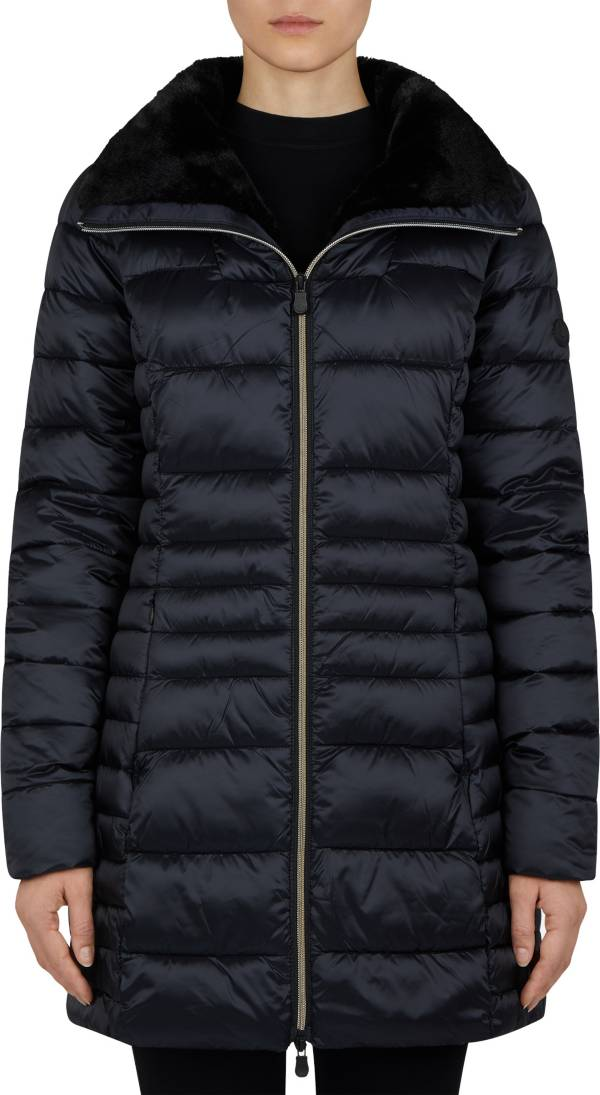 Save The Duck Women's Iridescent High Neck Parka product image