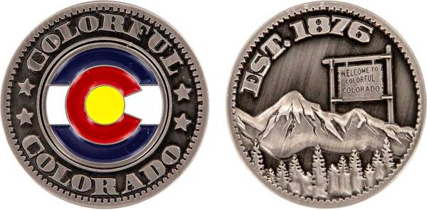 CMC Design Colorado Collector Coin Ball Marker product image