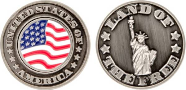 CMC Design USA Land Of The Free Collector Coin Ball Marker product image