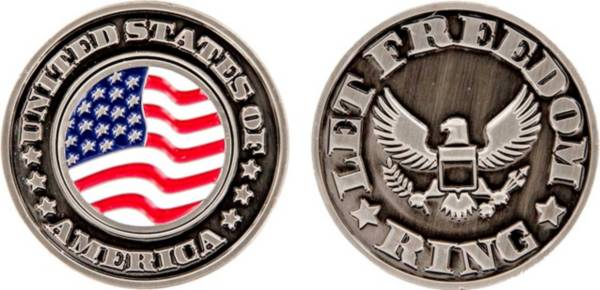 CMC Design USA Let Freedom Ring Collector Coin Ball Marker product image