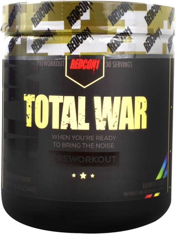 Redcon1 Total War Preworkout Rainbow Candy 30 Servings product image