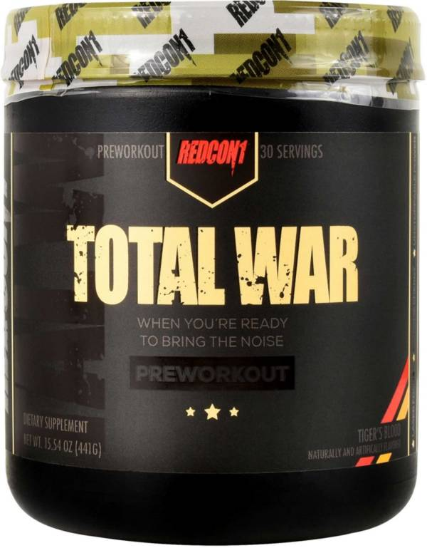 Redcon1 Total War Preworkout Tiger's Blood 30 Servings product image