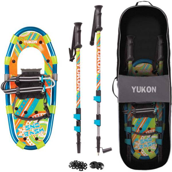 Yukon Charlie's Youth Sno-Bash Snowshoe Kit product image