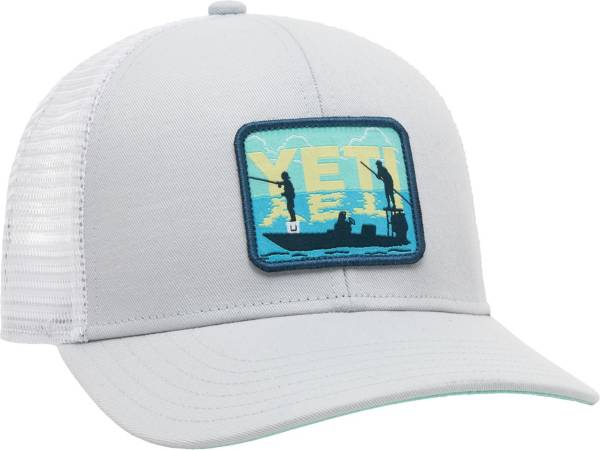 YETI Men's Poling Fish Patch Trucker Hat product image