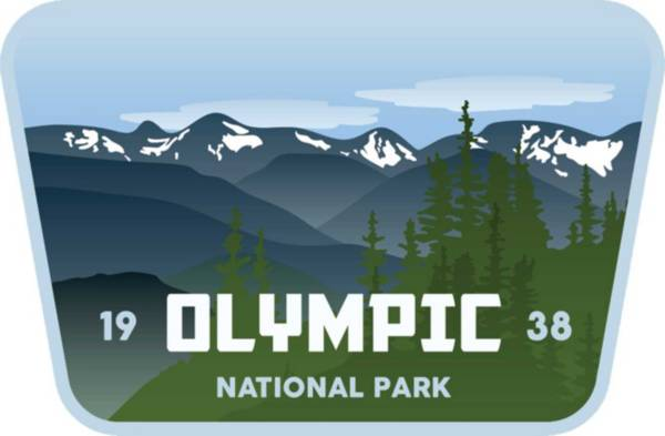 Stickers Northwest Olympic National Park Sticker product image