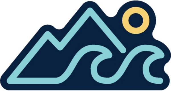 Stickers Northwest Mountains, Wave, Sun Sticker product image
