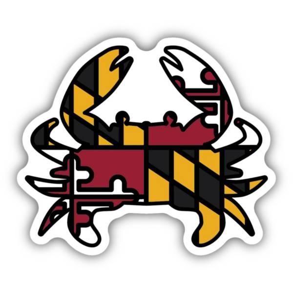 Stickers Northwest Maryland Flag Crab Sticker product image