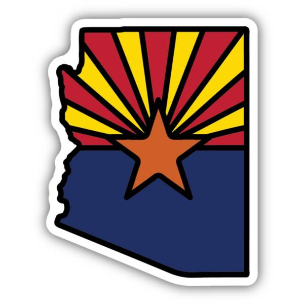 Stickers Northwest Arizona State Flag Sticker product image