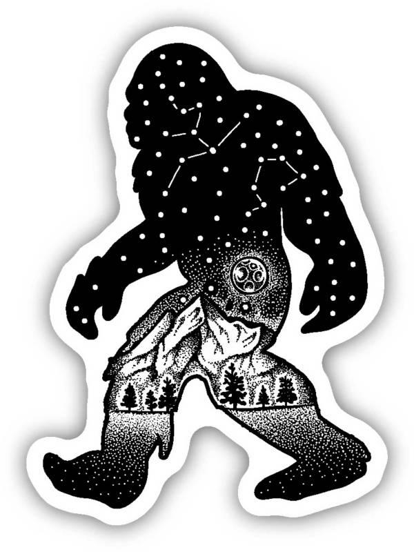 Stickers Northwest Sasquatch Constellation Sticker product image