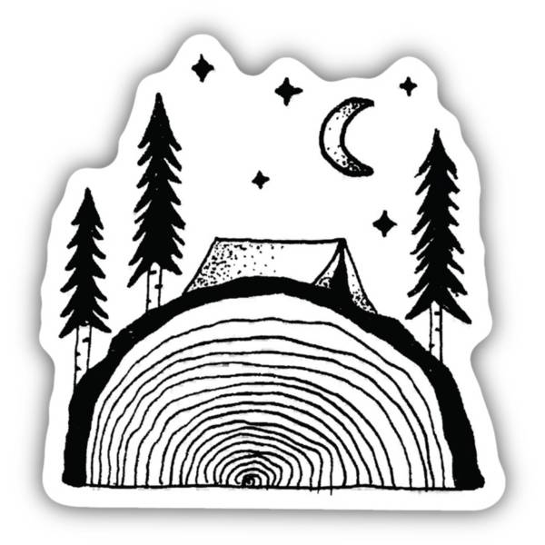 Stickers Northwest Sawing Logs Sticker product image