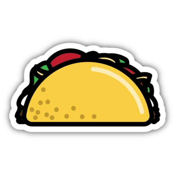 Stickers Northwest Taco Sticker product image