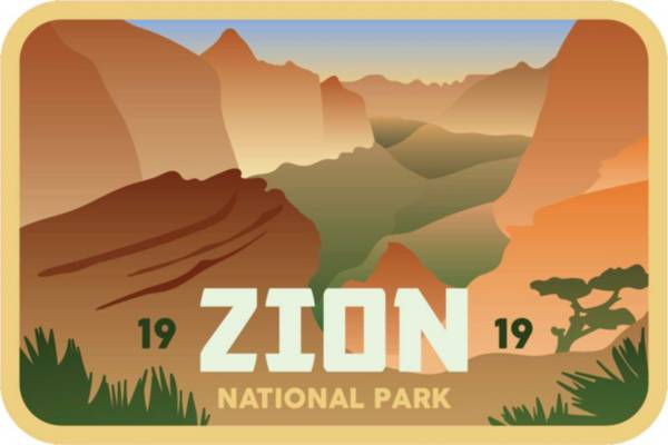 Stickers Northwest Zion National Park Sticker product image