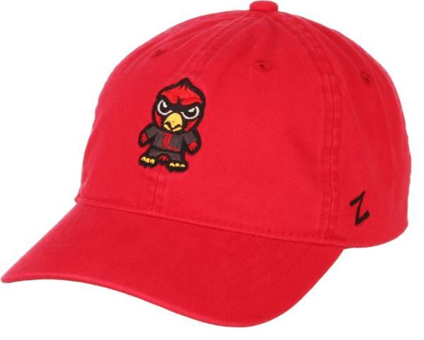 Zephyr Men's Louisville Cardinals Cardinal Red Tokoyodachi Emoji Hat product image