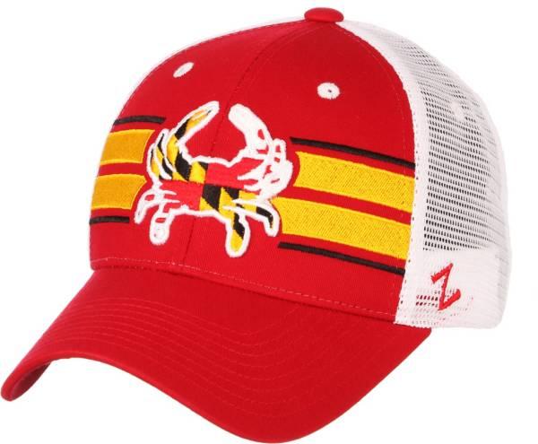 Zephyr Men's Maryland Terrapins Red/White 'Maryland Pride' Adjustable Hat product image