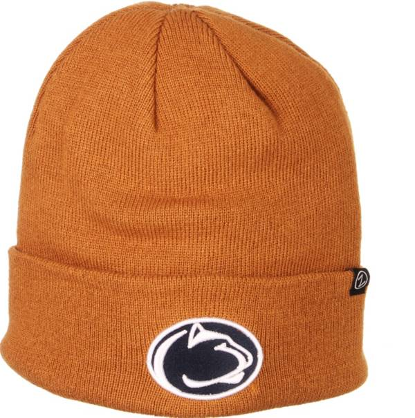 Zephyr Men's Penn State Nittany Lions Brown Cuffed Knit Beanie product image