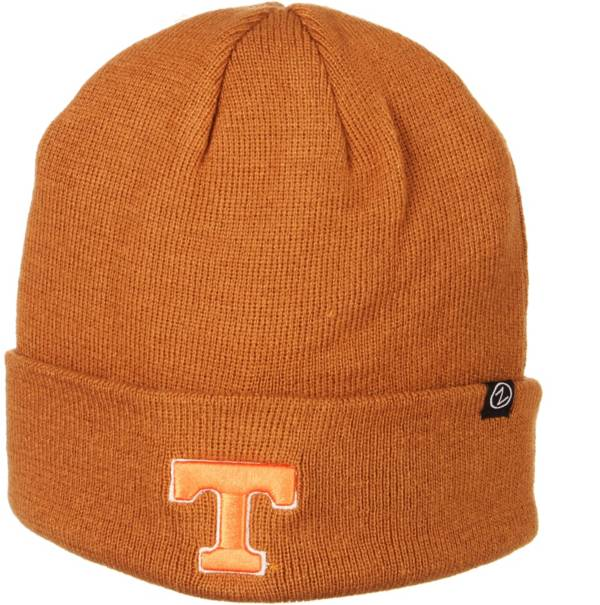 Zephyr Men's Tennessee Volunteers Brown Cuffed Knit Beanie product image