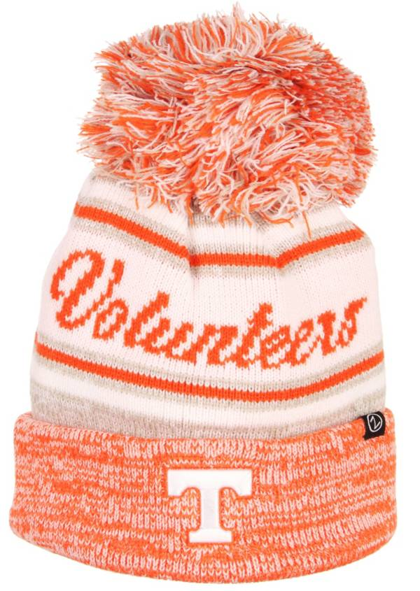 Zephyr Men's Tennessee Volunteers Tennessee Orange Diana Pom Knit Beanie product image