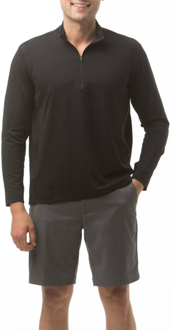 Sansoleil Men's SolCool ¼ Zip Golf Pullover product image