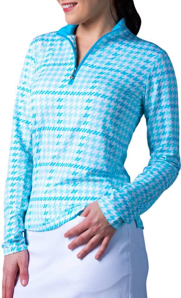 SanSoleil Women's SolTek ICE ¼-Zip Golf Pullover product image