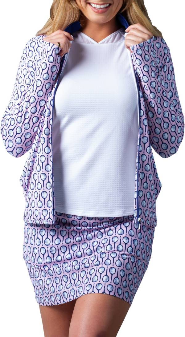 Sansoleil Women's Solstyle Cool Printed Golf Jacket product image