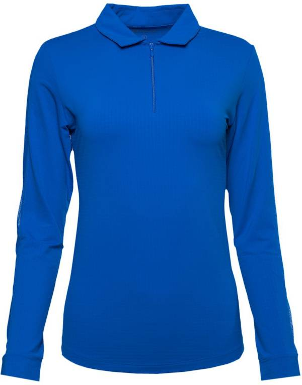 IBKUL Women's Long Sleeve Golf Polo product image