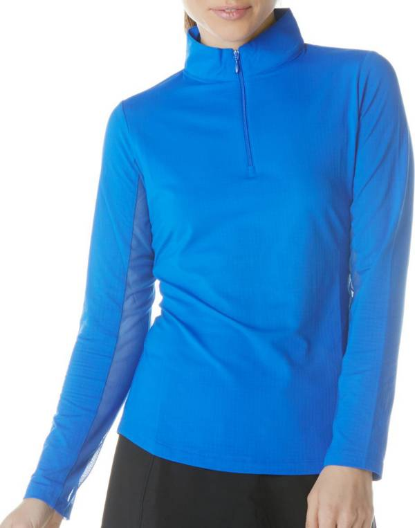IBKUL Women's Solid Long Sleeve Golf Top product image