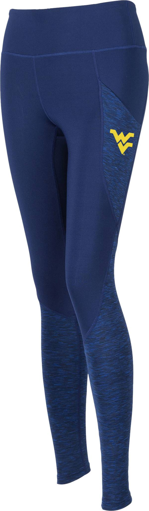 ZooZatz Women's West Virginia Mountaineers Blue Pocket Leggings product image