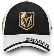 NHL Men's Vegas Golden Knights Logo Black Adjustable Hat product image