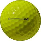 Bridgestone e6 Yellow Golf Balls product image