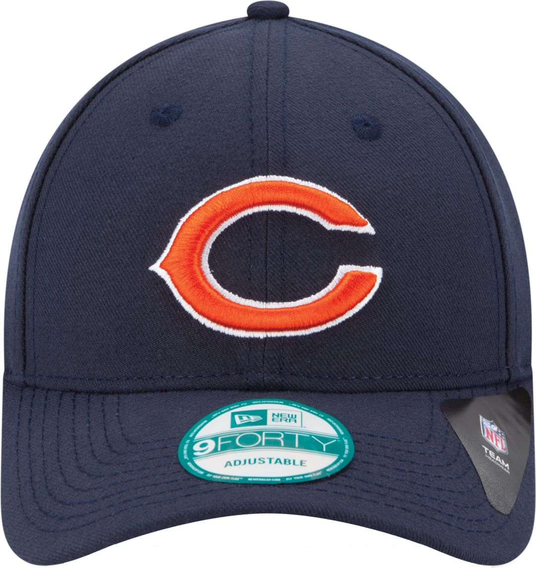 934c5a8b New Era Men's Chicago Bears League 9Forty Adjustable Navy Hat
