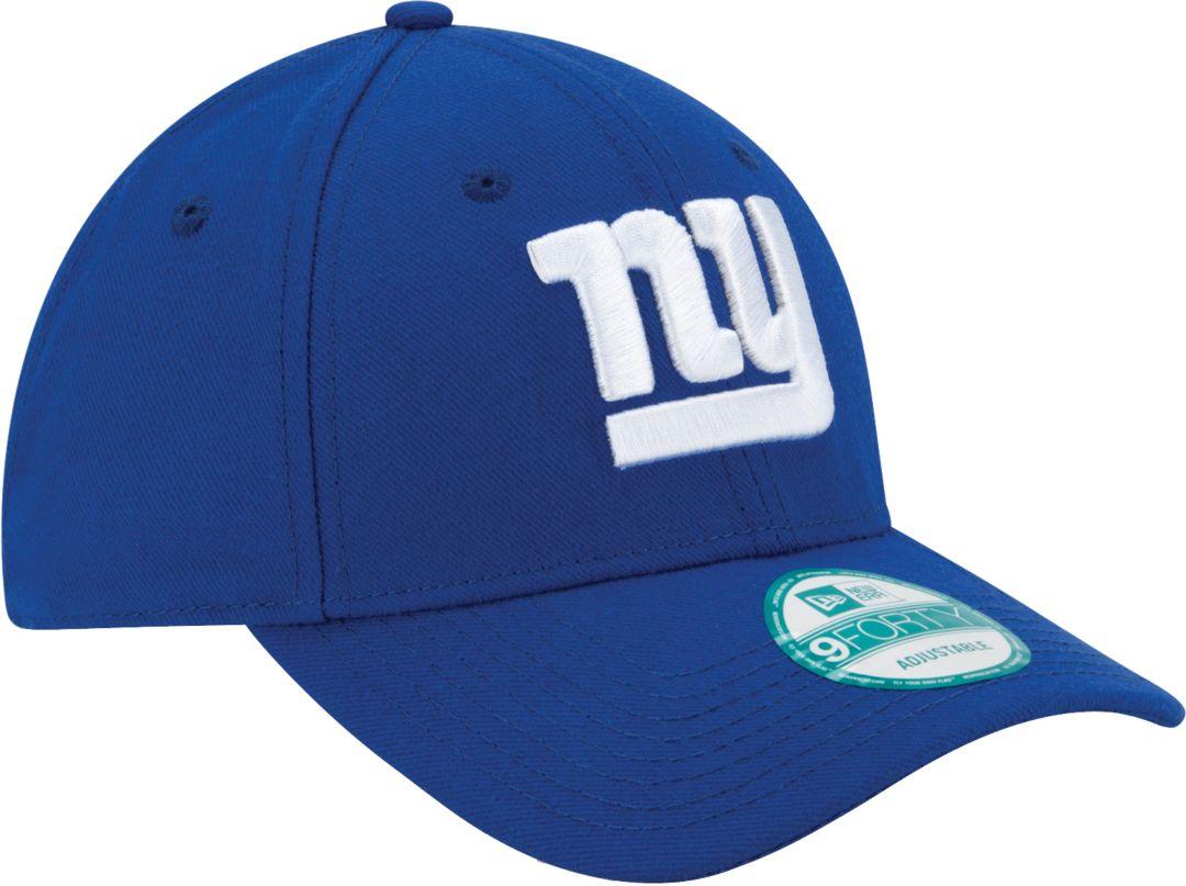 5f6cbe28 New Era Men's New York Giants League 9Forty Adjustable Blue Hat