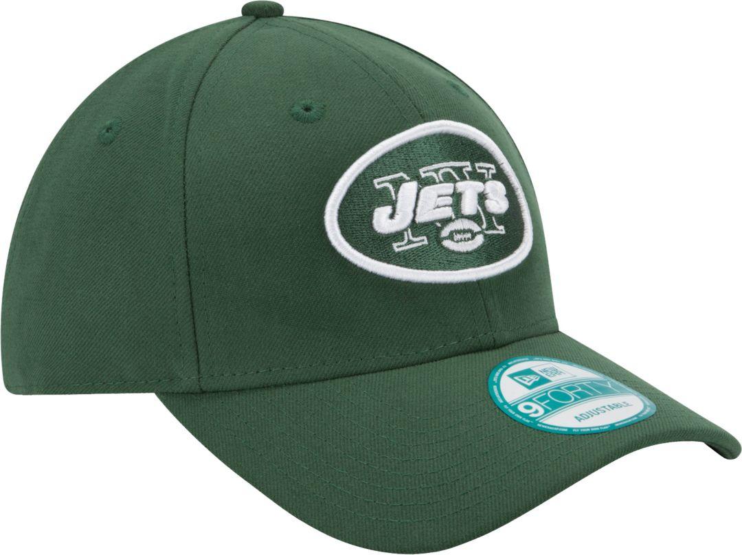7aea8932b39e1a New Era Men's New York Jets League 9Forty Adjustable Green Hat ...