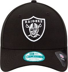 5a681a555fc New Era Men s Oakland Raiders League 9Forty Adjustable Black Hat alternate 2