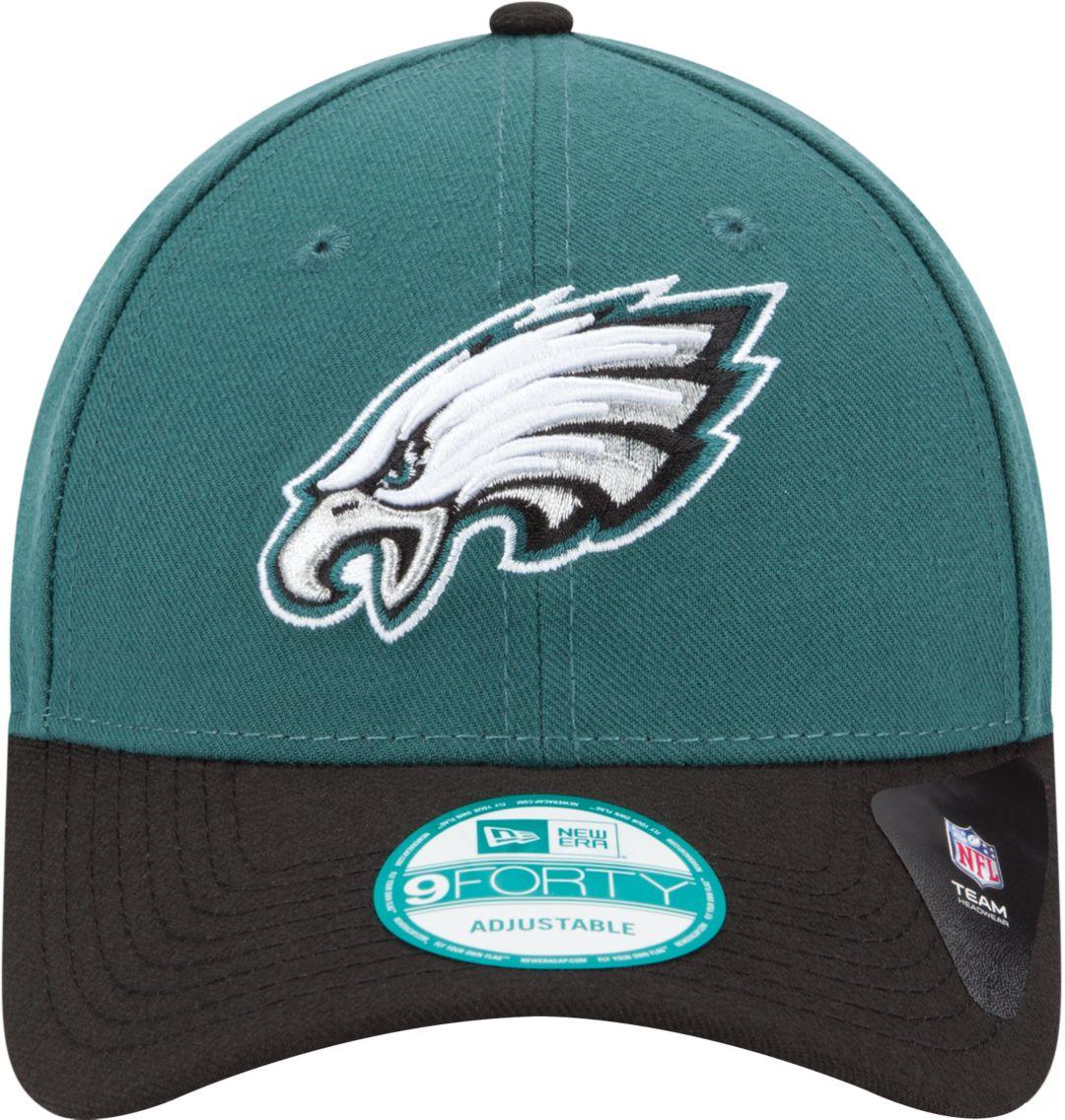 17425bed5 New Era Men's Philadelphia Eagles League 9Forty Adjustable Green Hat